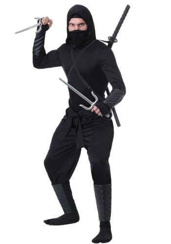 Stealth Shinobi Ninja Adult Plus Size Costume