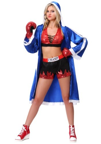 Knockout Beauty Costume | Boxer Halloween Costume Girl