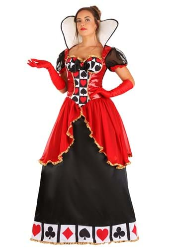 Click Here to buy Supreme Queen of Hearts Womens Costume from HalloweenCostumes, CDN Funds & Shipping
