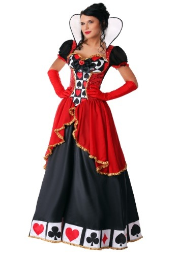 Supreme Queen of Hearts Costume for Plus Size Women