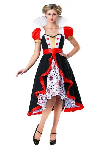 Flirty Queen of Hearts Costume for Women