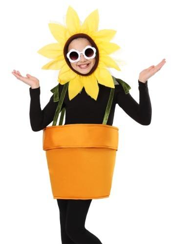 Flower Pot Costume for Kids