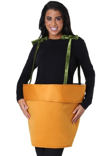 Flower Pot Costume for Adults