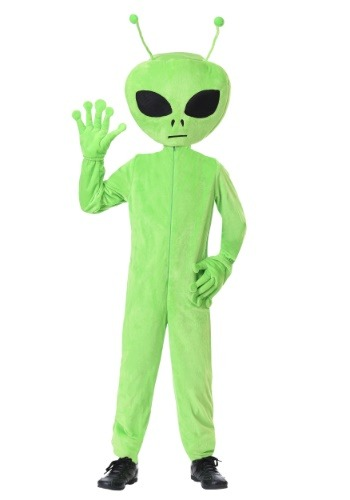 Oversized Alien Costume for Kids