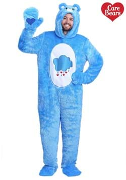 Adult Plus Care Bears Classic Grumpy Bear Costume