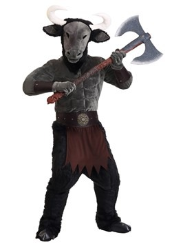Men's Menacing Minotaur Costume11