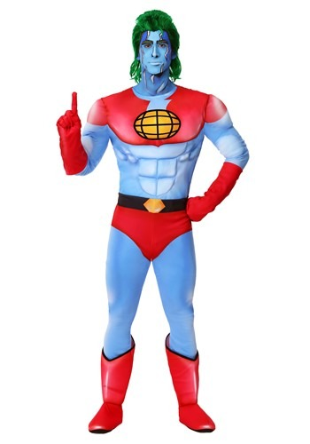 Click Here to buy Captain Planet Costume from HalloweenCostumes, CDN Funds & Shipping