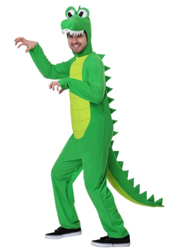 Plus Size Goofy Adult Gator Costume