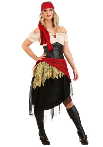 Click Here to buy Beautiful Womens Buccaneer Costume from HalloweenCostumes, CDN Funds & Shipping