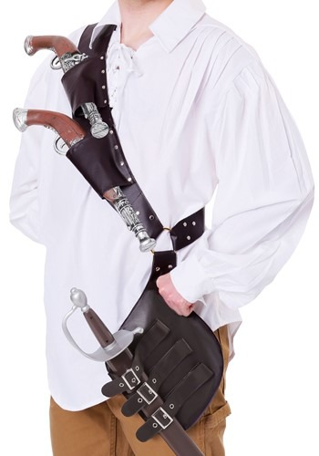 Adult Pirate's Shoulder Holster