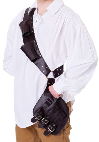 Click Here to buy Pirates Shoulder Holster for an Adult from HalloweenCostumes, CDN Funds & Shipping