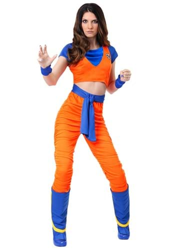 Click Here to buy Female Goku Costume from HalloweenCostumes, CDN Funds & Shipping