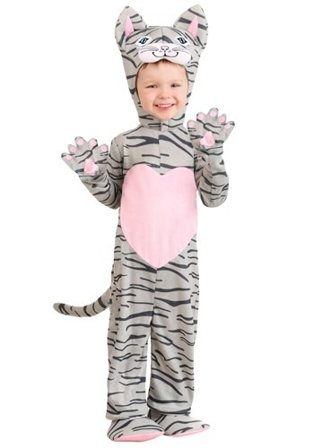Lovable Kitten Costume for a Toddler