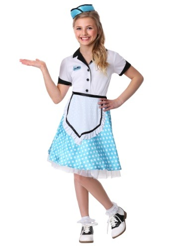 Kids 1950s Diner Darling Costume