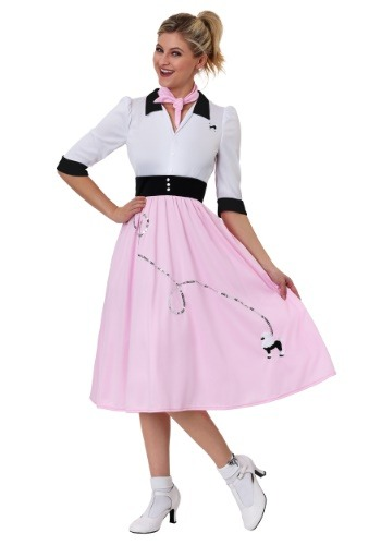 Sock Hop Sweetheart Costume for Women