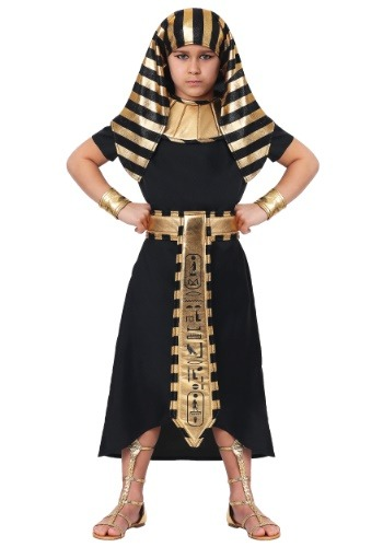 Click Here to buy Egyptian Pharaoh Costume for a Kids from HalloweenCostumes, CDN Funds & Shipping