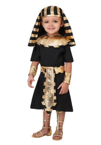 Click Here to buy Egyptian Pharaoh Costume for a Toddler from HalloweenCostumes, CDN Funds & Shipping