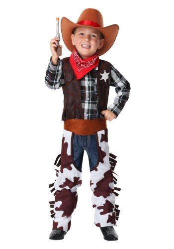Click Here to buy Wild West Sheriff Costume for Toddlers from HalloweenCostumes, CDN Funds & Shipping