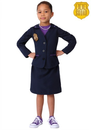 Odd Squad Girls Ms. O Costume