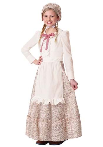 Girls Prairie Pioneer Costume