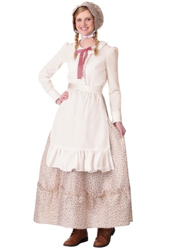 Womens Plus Size Prairie Pioneer Costume