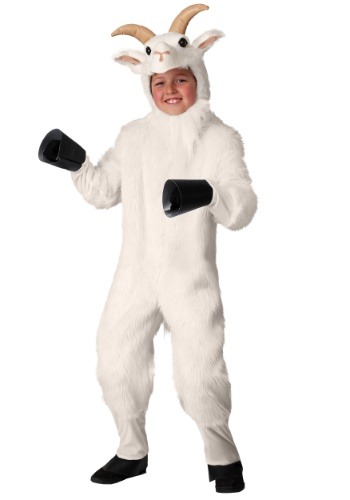 Click Here to buy Kidss Mountain Goat Costume from HalloweenCostumes, CDN Funds & Shipping