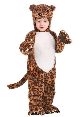 Toddlers Leapin Leopard Animal Costume