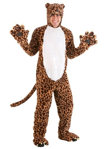 Adult Leapin' Leopard Costume1