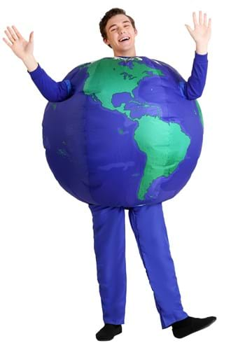 Inflatable Earth Costume for Adults