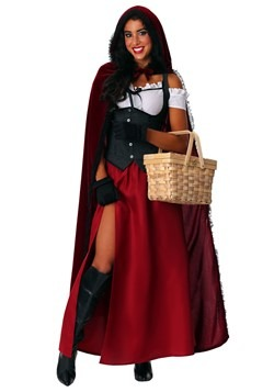 Ravishing Red Riding Hood Women's Plus Size Costume