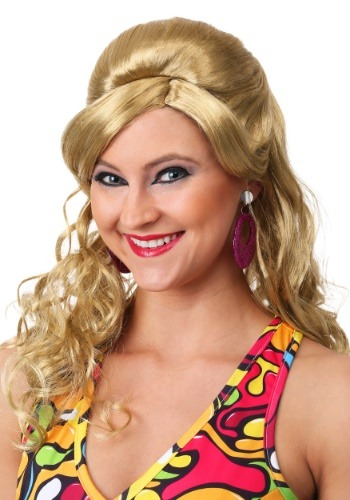 Click Here to buy 60s Gogo Mod Wig-Blonde from HalloweenCostumes, CDN Funds & Shipping