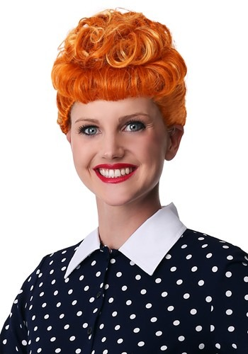 I Love Lucy Womens Wig
