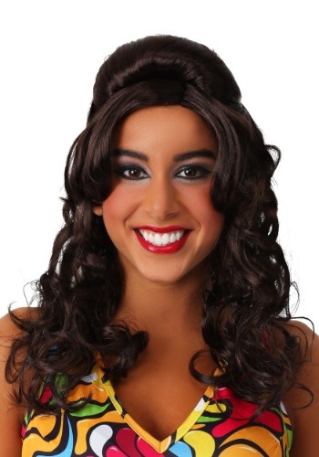 Click Here to buy 60s Gogo Mod Brunette Wig from HalloweenCostumes, CDN Funds & Shipping