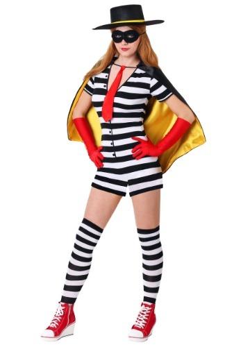Womens Burglar Costume