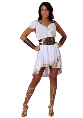 Click Here to buy Olympian Warrior Womens Costume | Historical Costume from HalloweenCostumes, CDN Funds & Shipping