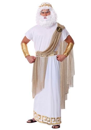 Mens Plus Size Zeus Costume