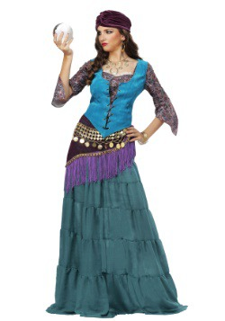 Fabulous Fortune Teller Plus Size Costume for Women