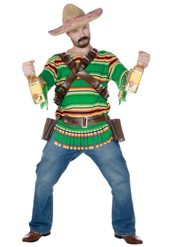 Click Here to buy Tequila Dude Costume from HalloweenCostumes, CDN Funds & Shipping