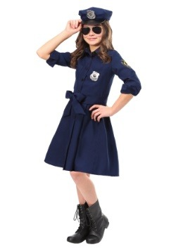 Girl's Helpful Police Officer Costume