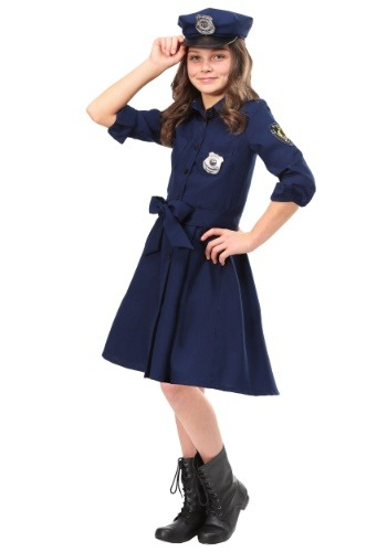 Click Here to buy Police Officer Cop Girls Costume from HalloweenCostumes, CDN Funds & Shipping