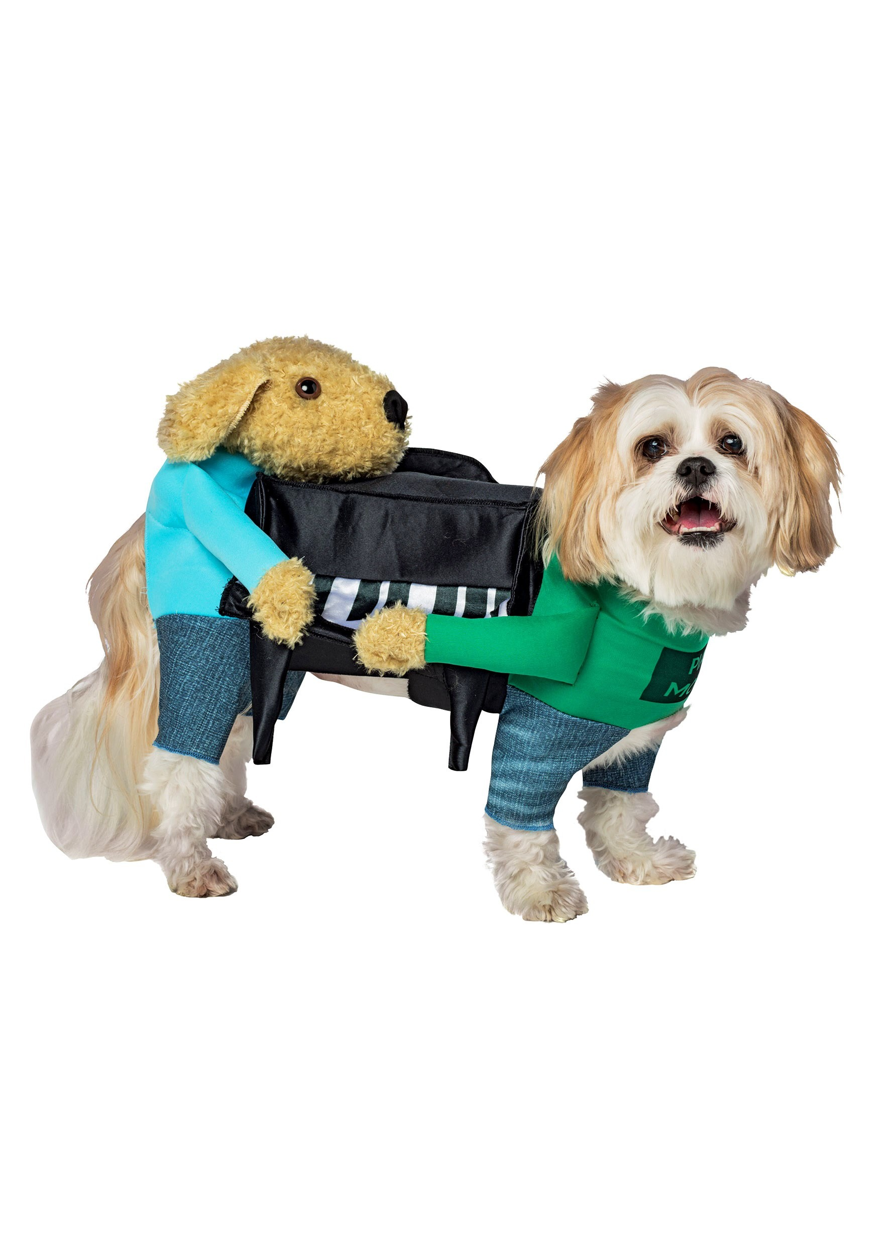 INOpets.com Anything for Pets Parents & Their Pets Dogs Carrying Piano Costume for Pets
