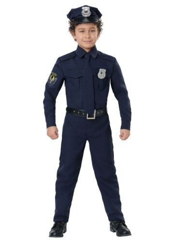 Cop Costume for Boys