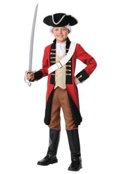 Child British Redcoat Costume