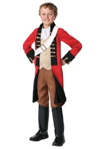 Click Here to buy Kids British Redcoat Costume from HalloweenCostumes, CDN Funds & Shipping