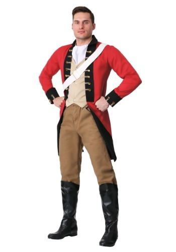 Click Here to buy Mens British Redcoat Costume from HalloweenCostumes, CDN Funds & Shipping