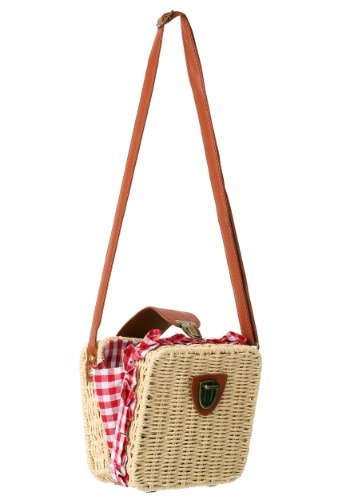 Gingham Basket Purse