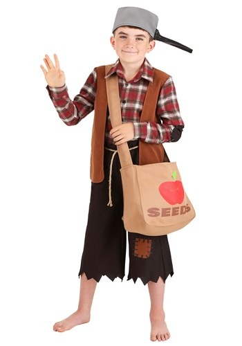 Click Here to buy Johnny Appleseed Boys Costume from HalloweenCostumes, CDN Funds & Shipping