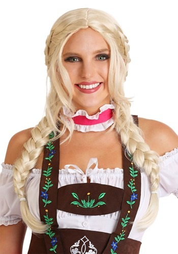 Womens Bavarian Girl Wig