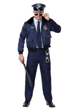Men's Deluxe Blue Cop Costume
