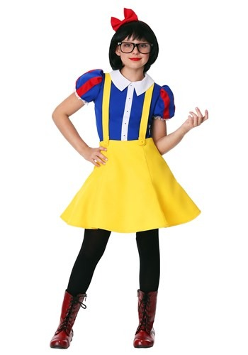 Tween Hipster Snow White Costume